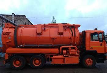 Каналопромывочные машины