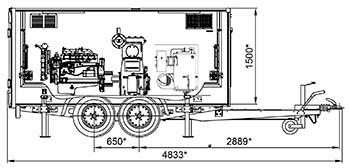 Установка высокого давления МВУ-30-800-21